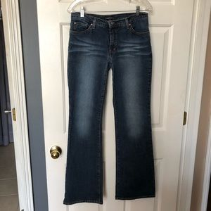 Bebe Vintage Boot Cut Medium Wash Jeans